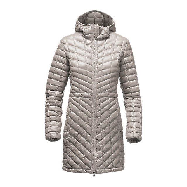 Discount NORTH FACE WOMEN\'S THERMOBALL  HOODED PARKA DOVE GREY ONLINE