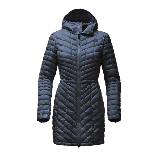 Discount NORTH FACE WOMEN'S THERMOBALL  HOODED PARKA URBAN NAVY ONLINE