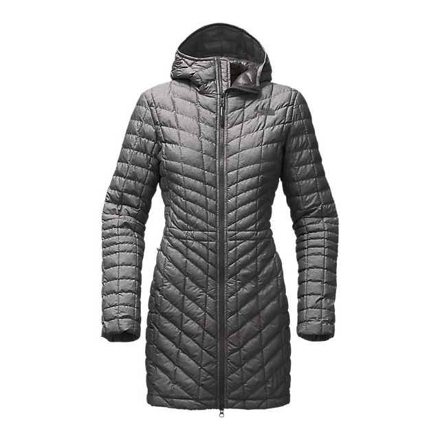 Discount NORTH FACE WOMEN\'S THERMOBALL  HOODED PARKA MEDIUM GREY HEATHER ONLINE