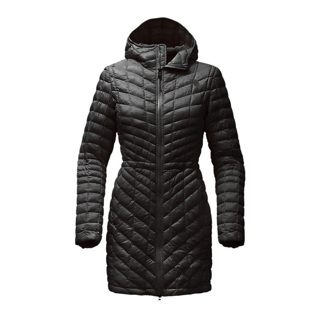 Discount NORTH FACE WOMEN\'S THERMOBALL  HOODED PARKA BLACK ONLINE