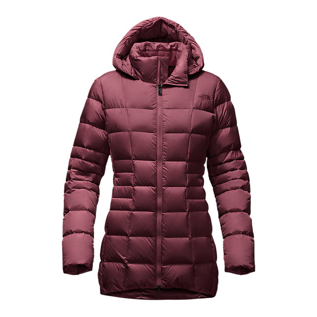 Discount NORTH FACE WOMEN'S TRANSIT JACKET II DEEP GARNET RED ONLINE