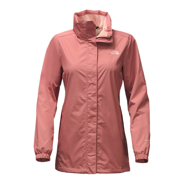 Discount NORTH FACE WOMEN\'S RESOLVE PARKA LIGHT MAHOGANY/TROPICAL PEACH ONLINE