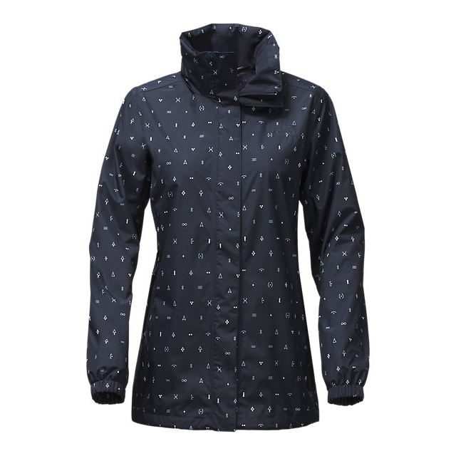 Discount NORTH FACE WOMEN'S RESOLVE PARKA URBAN NAVY UNCHARTED PRINT ONLINE