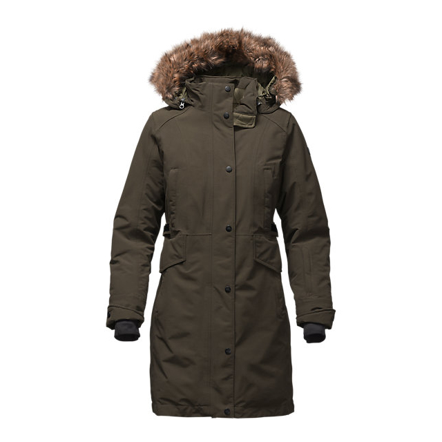 Discount NORTH FACE WOMEN'S TREMAYA PARKA ROSIN GREEN ONLINE
