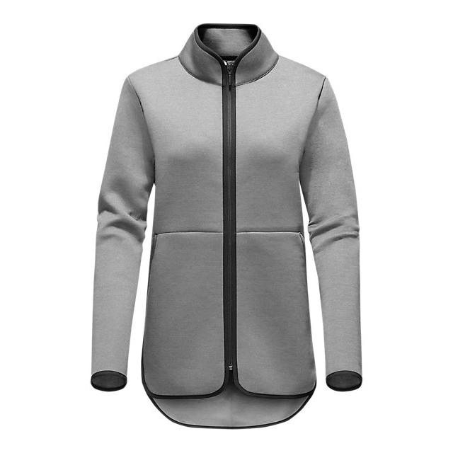 Discount NORTH FACE WOMEN\'S THERMAL 3D FULL ZIP LIGHT GREY HEATHER ONLINE