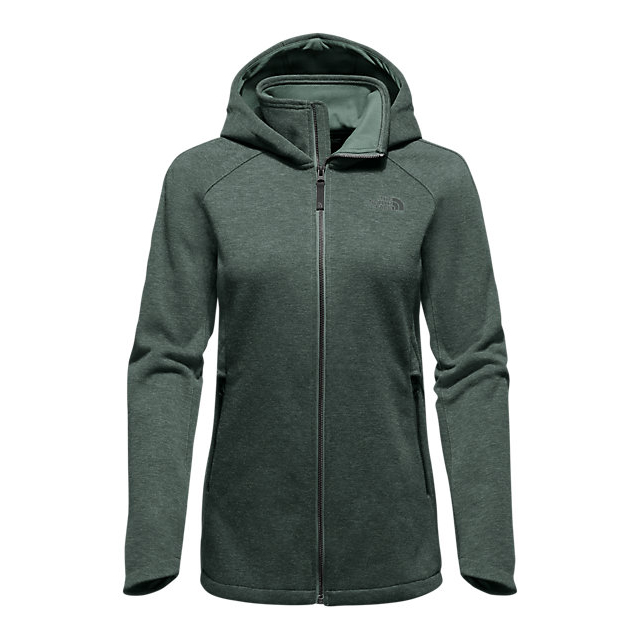 Discount NORTH FACE WOMEN'S FAR NORTHERN HOODIE DARKEST SPRUCE HEATHER ONLINE