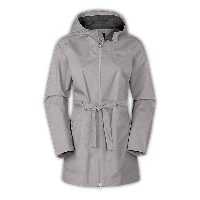 Discount NORTH FACE WOMEN'S TERALINDA TRENCH ASHES OF ROSES GREY ONLINE