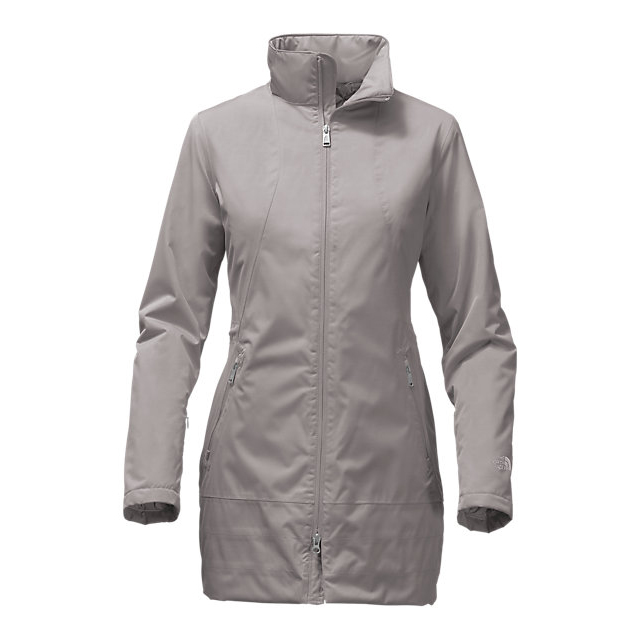 Discount NORTH FACE WOMEN\'S INSULATED ANCHA PARKA METALLIC SILVER ONLINE