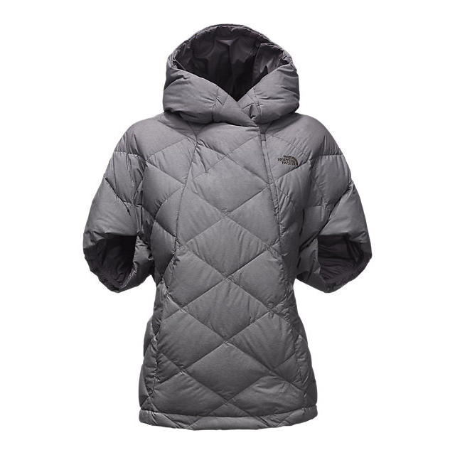 Discount NORTH FACE WOMEN'S FAR NORTHERN CAPELET MEDIUM GREY HEATHER ONLINE