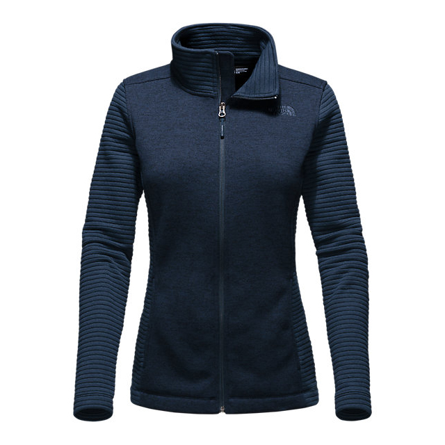 Discount NORTH FACE WOMEN\'S INDI FULL ZIP JACKET COSMIC BLUE HEATHER / COSMIC BLUE ONLINE