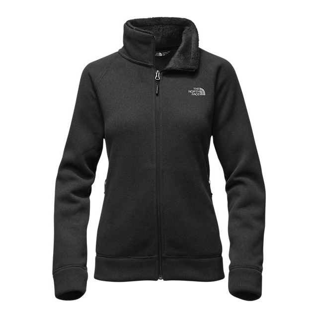 Discount NORTH FACE WOMEN\'S CRESCENT RASCHEL FULL ZIP JACKET BLACK HEATHER ONLINE