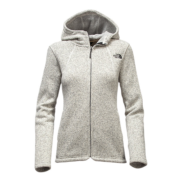 Discount NORTH FACE WOMEN\'S CRESCENT FULL ZIP HOODIE VINTAGE WHITE HEATHER ONLINE