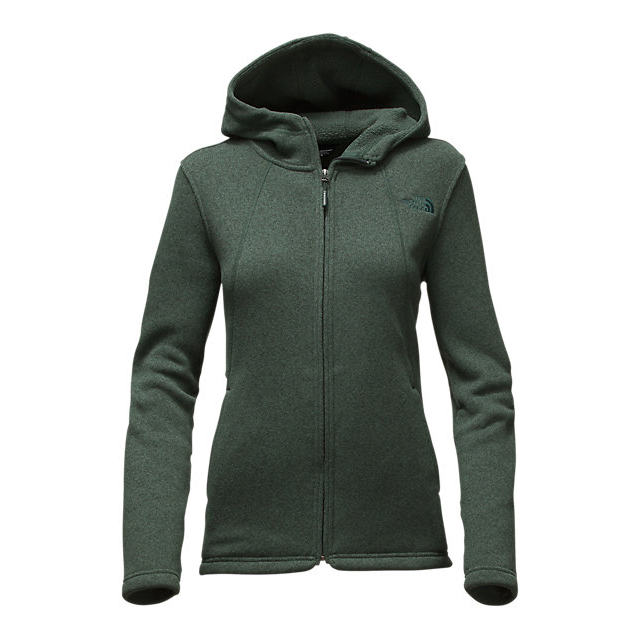 Discount NORTH FACE WOMEN\'S CRESCENT FULL ZIP HOODIE DARKEST SPRUCE HEATHER ONLINE