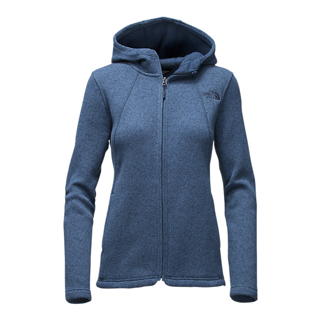 Discount NORTH FACE WOMEN\'S CRESCENT FULL ZIP HOODIE SHADY BLUE HEATHER ONLINE