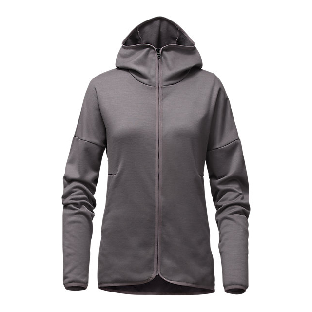 Discount NORTH FACE WOMEN'S SWELLTHY HOODIE RABBIT GREY HEATHER ONLINE