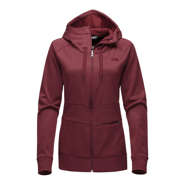 Discount NORTH FACE WOMEN'S SHELLY HOODIE DEEP GARNET RED HEATHER ONLINE