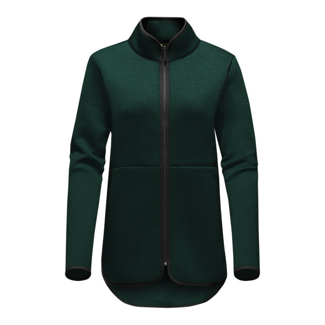Discount NORTH FACE WOMEN'S THERMAL 3D FULL ZIP SCARAB GREEN BLACK HEATHER ONLINE