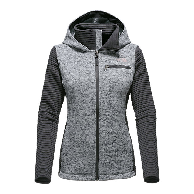 Discount NORTH FACE WOMEN'S NOVELTY INDI HOODIE LUNAR ICE GREY HEATHER/ASPHALT GREY ONLINE