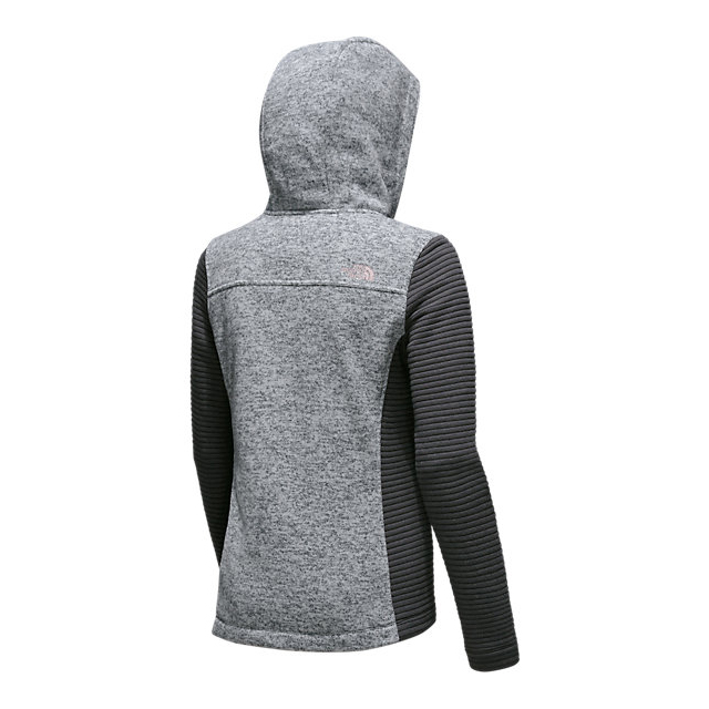 Discount NORTH FACE WOMEN\'S NOVELTY INDI HOODIE LUNAR ICE GREY HEATHER/ASPHALT GREY ONLINE