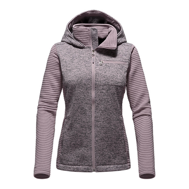 Discount NORTH FACE WOMEN'S NOVELTY INDI HOODIE QUAIL GREY HEATHER/QUAIL GREY ONLINE