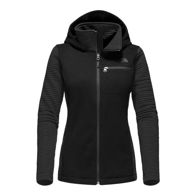 Discount NORTH FACE WOMEN\'S NOVELTY INDI HOODIE BLACK HEATHER / BLACK ONLINE