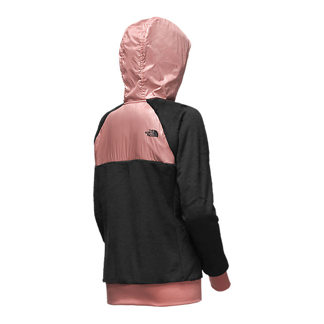 Discount NORTH FACE WOMEN\'S OSO HOODIE BLACK/ROSE DAWN ONLINE