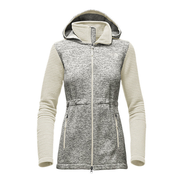 Discount NORTH FACE WOMEN\'S INDI INSULATED HOODIE VINTAGE WHITE HEATHER/VINTAGE WHITE ONLINE