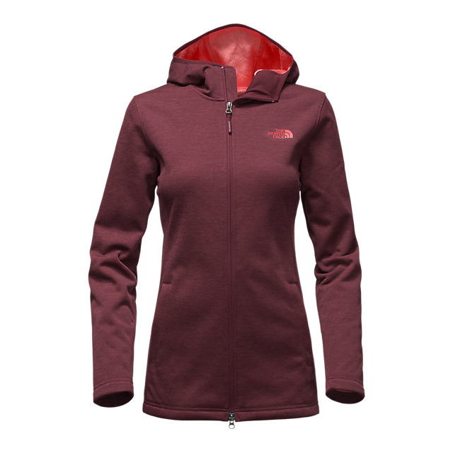 Discount NORTH FACE WOMEN\'S MEADOWBROOK RASCHEL PARKA DEEP GARNET RED HEATHER ONLINE