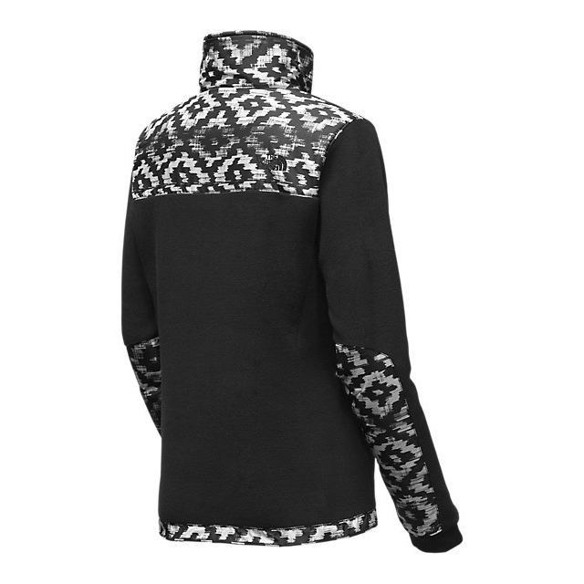 Discount NORTH FACE WOMEN\'S DENALI 2 JACKET BLACK D-KAT PRINT/BLACK ONLINE