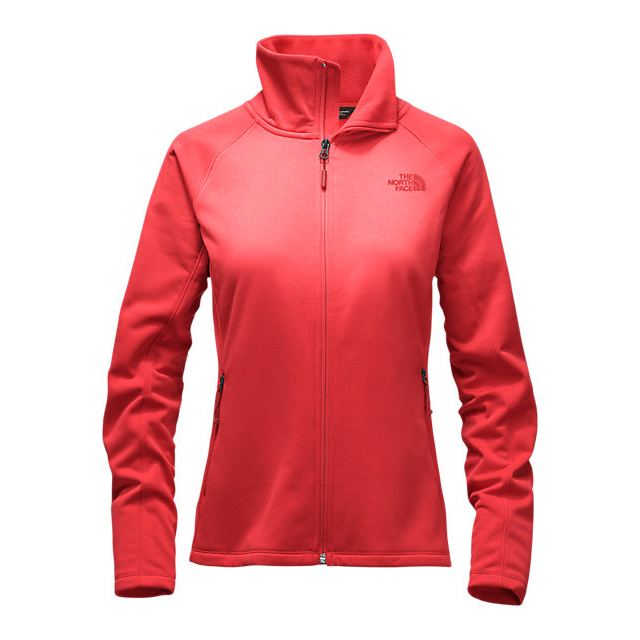 Discount NORTH FACE WOMEN'S ARCATA FULL ZIP HIGH RISK RED ONLINE