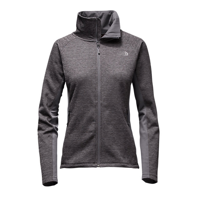 Discount NORTH FACE WOMEN\'S ARCATA FULL ZIP RABBIT GREY HEATHER/RABBIT GREY ONLINE