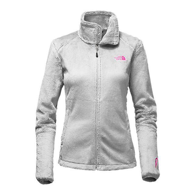 Discount NORTH FACE WOMEN'S PINK RIBBON OSITO 2 JACKET HIGH RISE GREY ONLINE