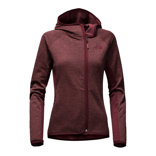 Discount NORTH FACE WOMEN'S ARCATA HOODIE DEEP GARNET RED HEATHER/DEEP GARNET RED ONLINE