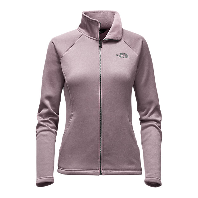 Discount NORTH FACE WOMEN\'S AGAVE FULL ZIP QUAIL GREY HEATHER ONLINE
