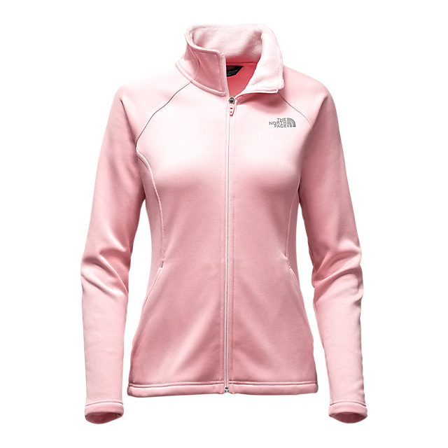 Discount NORTH FACE WOMEN'S AGAVE FULL ZIP PURDY PINK HEATHER ONLINE