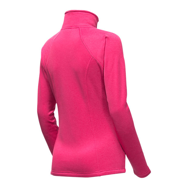Discount NORTH FACE WOMEN\'S AGAVE FULL ZIP CERISE PINK HEATHER ONLINE