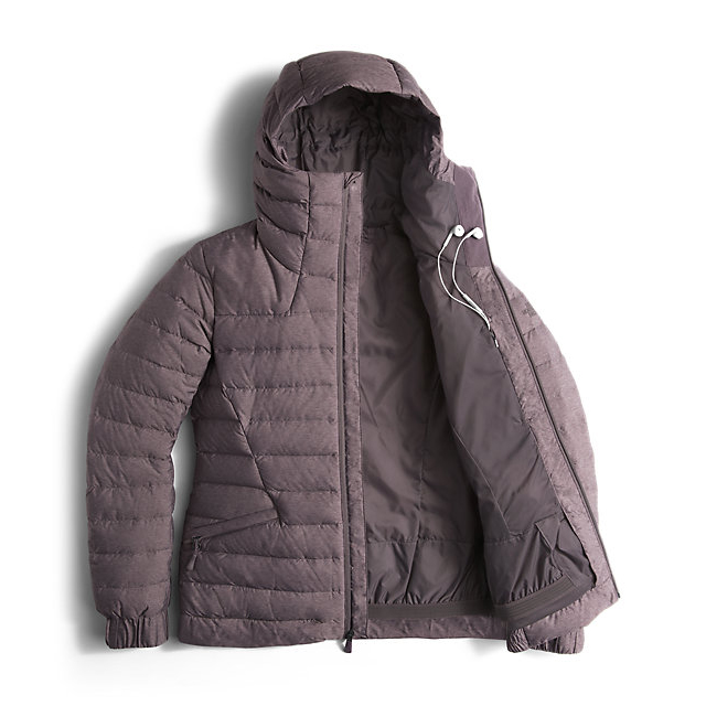 Discount NORTH FACE WOMEN\'S MOONLIGHT JACKET RABBIT GREY HEATHER ONLINE
