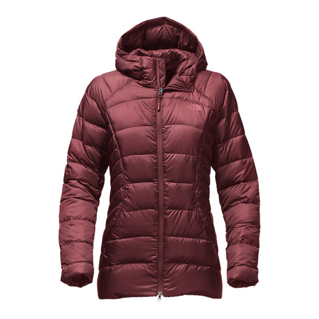 Discount NORTH FACE WOMEN'S TONNERRO PARKA DEEP GARNET RED ONLINE