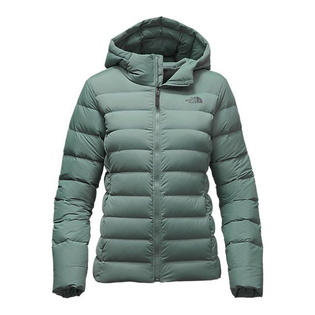 Discount NORTH FACE WOMEN'S STRETCH DOWN JACKET BALSAM GREEN ONLINE