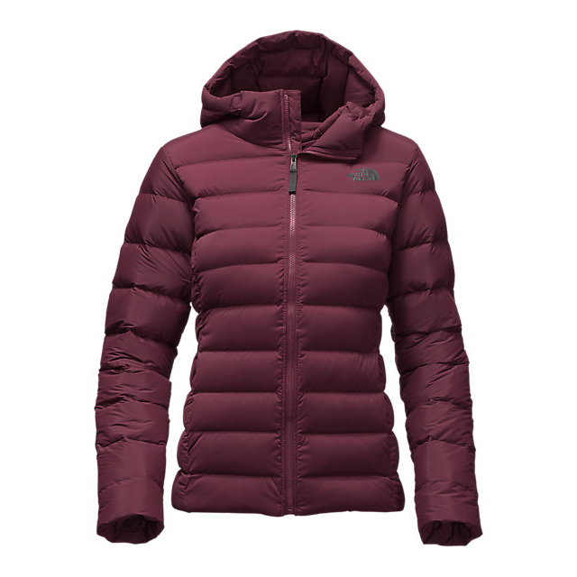 Discount NORTH FACE WOMEN'S STRETCH DOWN JACKET DEEP GARNET RED ONLINE