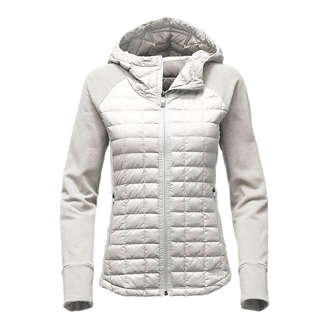 Discount NORTH FACE WOMEN\'S ENDEAVOR THERMOBALL  JACKET MOONLIGHT IVORY/MOONLIGHT IVORY WHITE HEATHER ONLINE