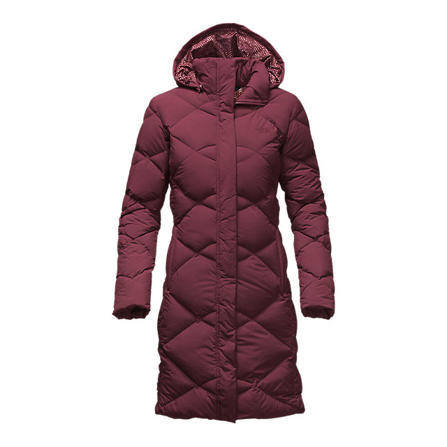 Discount NORTH FACE WOMEN\'S MISS METRO PARKA DEEP GARNET RED ONLINE
