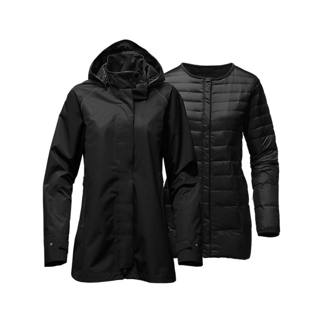 Discount NORTH FACE WOMEN'S MOSSWOOD TRICLIMATE BLACK ONLINE