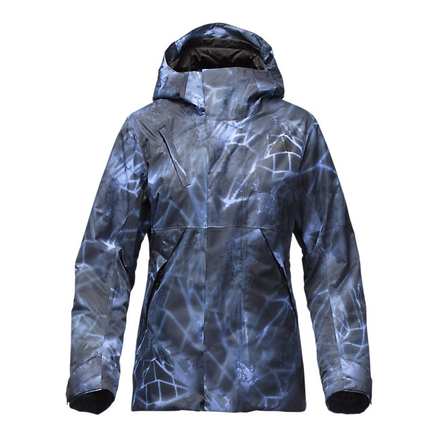 Discount NORTH FACE WOMEN\'S CONNECTOR JACKET GRAPEMIST BLUE NIGHTLIGHTS PRINT ONLINE
