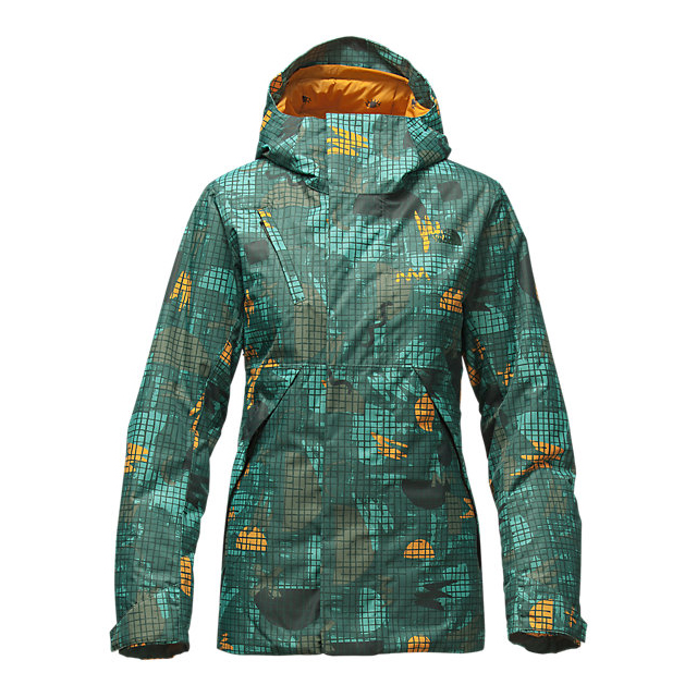 Discount NORTH FACE WOMEN\'S CONNECTOR JACKET DARKEST SPRUCE HOT MESS PRINT ONLINE