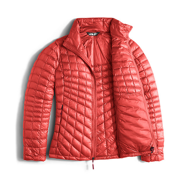 Discount NORTH FACE WOMEN\'S THERMOBALL  FULL ZIP JACKET (EXCLUSIVE COLORS) SPICED CORAL ONLINE