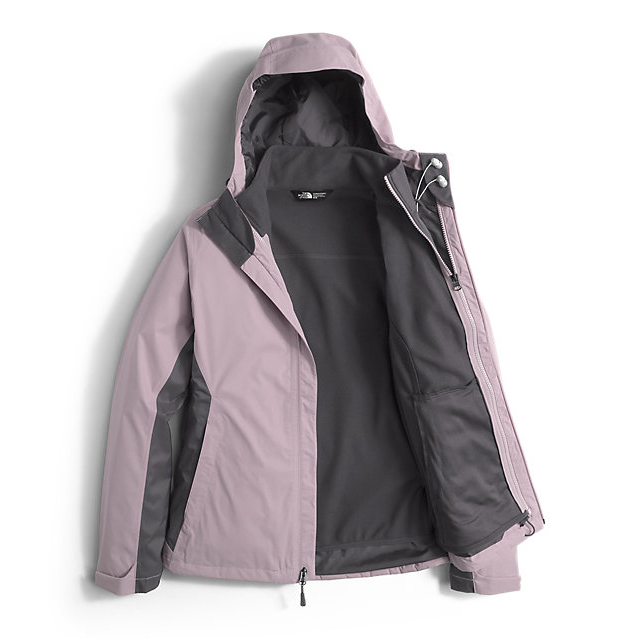 Discount NORTH FACE WOMEN\'S ARROWOOD TRICLIMATE  JACKET QUAIL GREY/RABBT GREY ONLINE