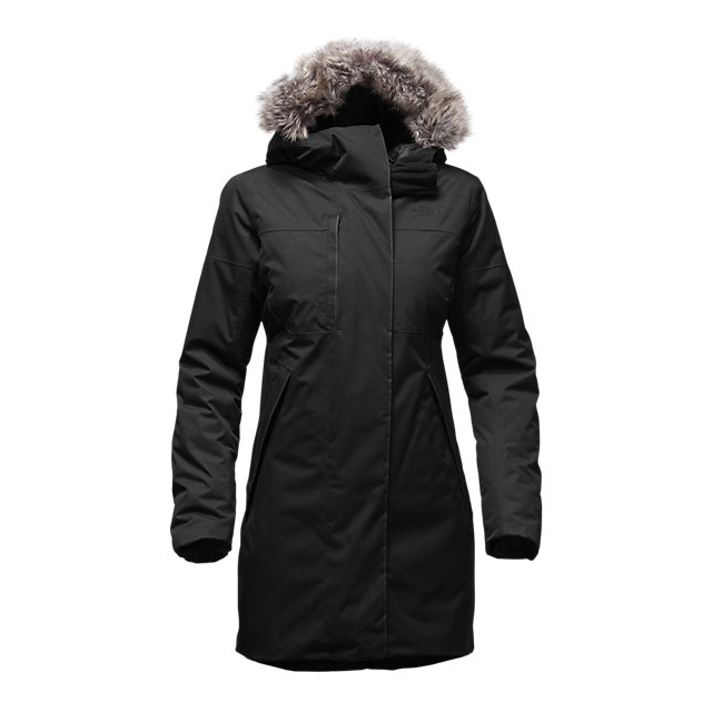 Discount NORTH FACE WOMEN\'S FAR NORTHERN WATERPROOF PARKA BLACK SLUB ONLINE