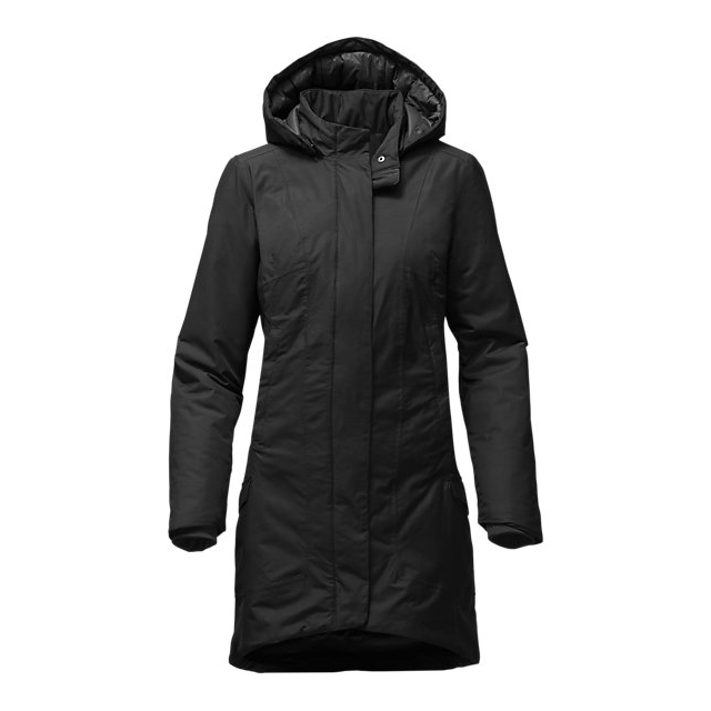 Discount NORTH FACE WOMEN'S TEMESCAL TRENCH BLACK ONLINE