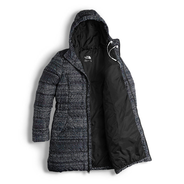 Discount NORTH FACE WOMEN\'S GOTHAM PARKA BLACK DONEGAL PRINT ONLINE